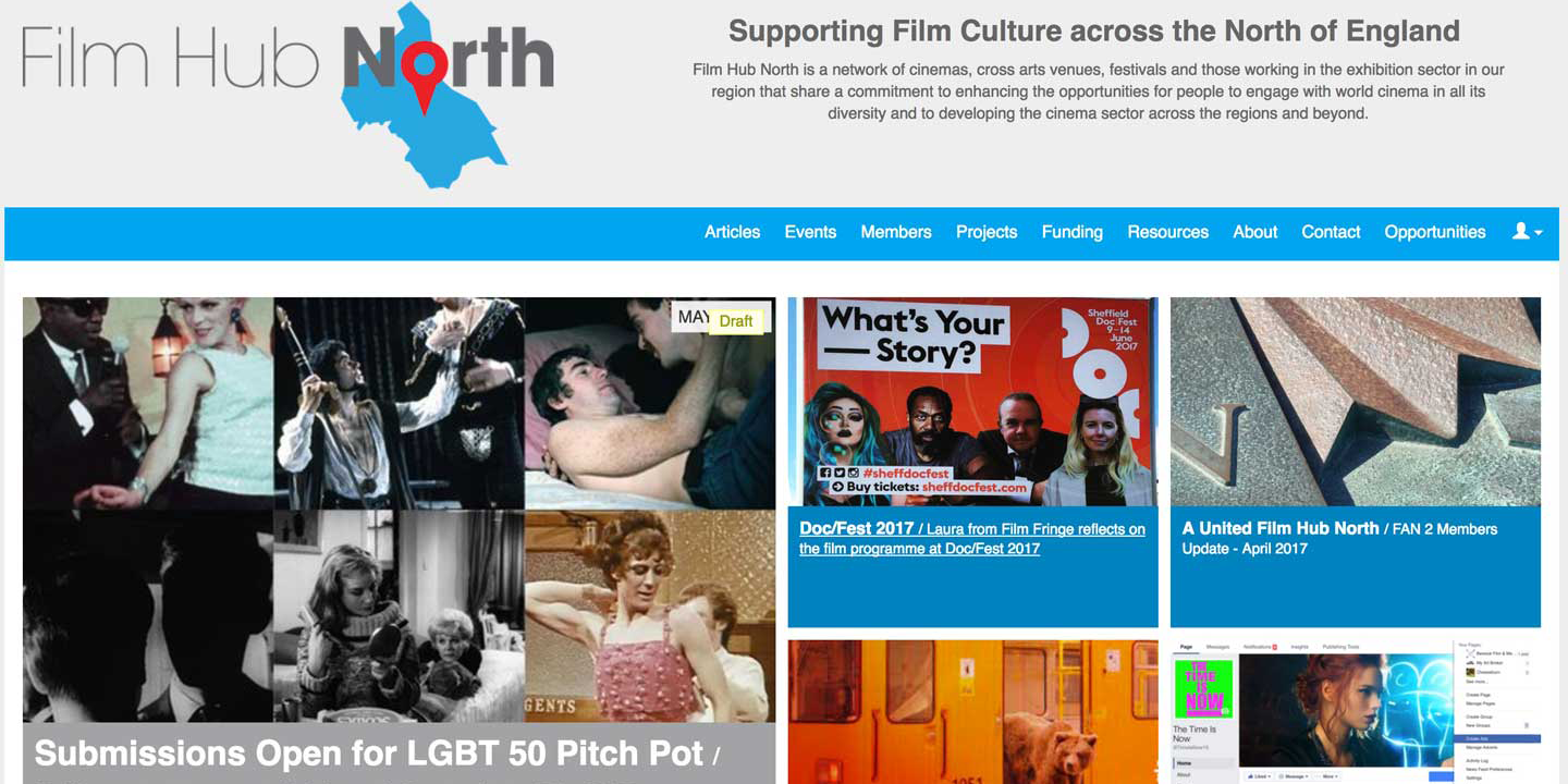 Film Hub North – A community partnership founded on film investment